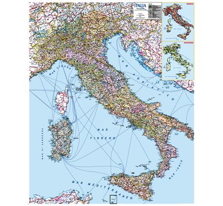 Cartina Italiana Stradale.Dmp Di Roberto Cantoni